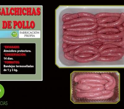 SALCHICHAS DE POLLO