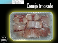 CONEJO TROCEADO