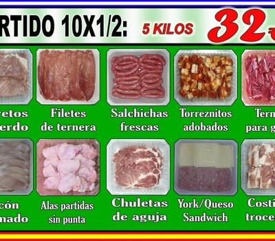 SURTIDO 10X1/2