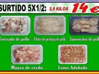 SURTIDO 5X1/2