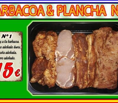 BARBACOA/PLANCHA Nº1