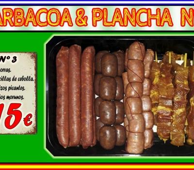 BARBACOA/PLANCHA Nº3