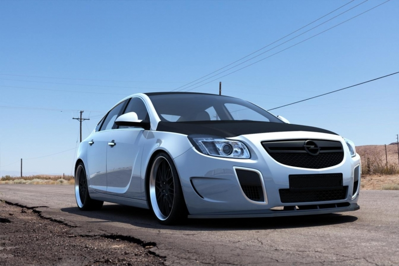 spoiler opel insignia opc 2008 max tuning. Black Bedroom Furniture Sets. Home Design Ideas