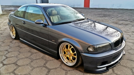 spoiler delantero e46 coupe m pack max tuning. Black Bedroom Furniture Sets. Home Design Ideas