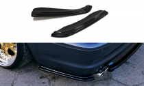 SPLITTERS TRASEROS BMW E46 COUPE MPACK