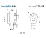 ISO 3320 ACCESORIOS : HORQUILLA - HHS