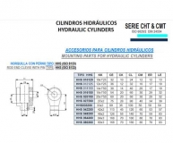 CILINDRO HIDRAULICO ISO 6020 2  ACCESORIOS