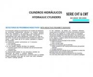 CILINDRO HIDRAULICO ISO 6020 2  DETECTORES DE PROXIMIDAD