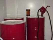 Bidones almacenaje lubricante
