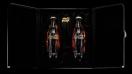 Coca-Cola y Daft Punk: Botellas con logos en oro y plata