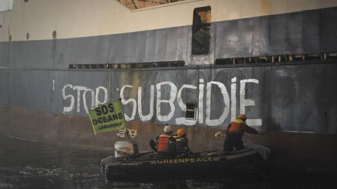Greenpeace denuncia sobreexplotación pesquera en el mar Cantábrico