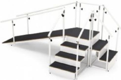 Escalera rampa