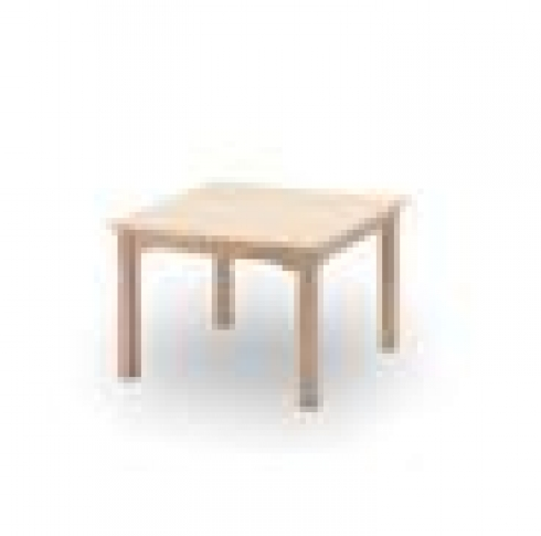 Mesa salón cuadrada