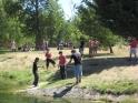 La  Fundacion  ARASOAK   disfruta de un dia de pesca