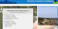 Aplicación Biomasa Forestal en Andalucía