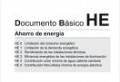 """presentación oficial de la actualización del Documento Básico HE """"Ahorro de Energía"""" del Código Técnico de la Edificación"""