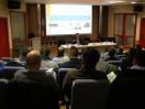 Pablo Rodero, responsable de certificación de AVEBIOM formando a más de 100 técnicos en calidad de biocombustibles sólidos
