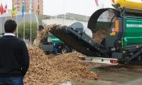 Maquinaria forestal para biomasa en Expobiomasa 2014, la feria de los profesionales