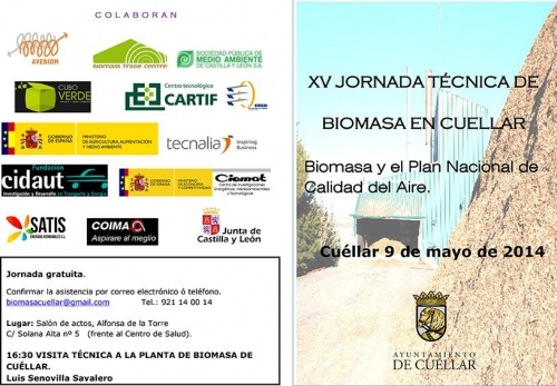 XV Jornada Técnica de Biomasa - Plan Aire