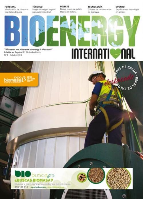 Ya está disponible online el último número de Bioenergy International