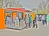 La biomasa irrumpe en las calles de Valladolid, Vitoria-Gasteiz y Logroño gracias a una acción conjunta de AVEBIOM e IDAE