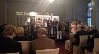 """Entrega del premio """"Ejecutivo del Año en Aragón"""" para José Manuel Martínez, presidente de PRODESA"""