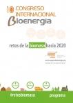 Programa del 10º congreso Internacional de Bioenergía que organiza AVEBIOM.