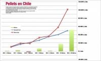 Oferta y demanda de pellets en Chile 2016