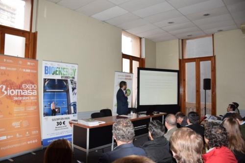 Éxito de convocatoria en el I Seminario Chileno-Español de Biomasa organizado por AVEBIOM
