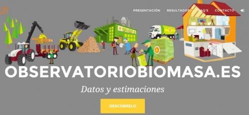 AVEBIOM lanza observatoriobiomasa.es