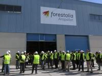 Inaugurada la fábrica de pellets de Erla