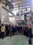 Se inaugura la red de calor con biomasa de Aranda de Duero