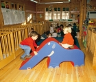 figura foam, elefante foam, elefante bebe, efefante tobogan