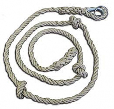 cuerda trepa, cuerda trepa nudos