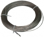 cable corchera, cable acero inoxidable