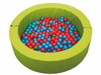 piscina de bolas, piscina redonda bolas, piscina de pelotas, piscina sensorial