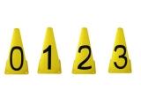 cono numerado, cono numeros, cono juego y aprendo, conos numeros
