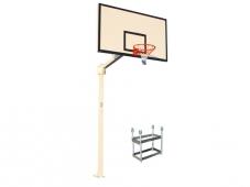 canastas basket monotubular fija, canasta basket