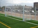 J. Porterías Fútbol 7 Abatibles Aluminio 90