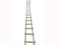 escalera de cuerdas , escalera marina, puentes aventura