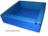 suelo para piscina bolas cuadrada, suelo piscina bolas