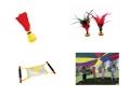 Indiacas / Paracaidas / Fútbol Pluma