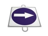 señal trafico, señal educacion vial, panel señalizacion trafico, señal trafico sentido obligatorio