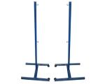 postes badminton, postes badminton fijos, juego postes badminton
