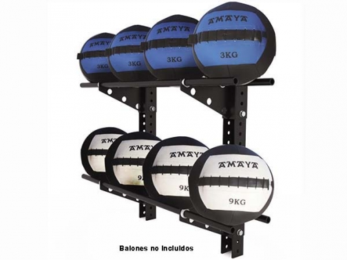 estanteria balones crossift, estanteria balones funcionales