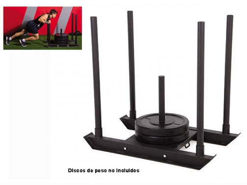 trineo de empuje, pushing sled, power sled, trineo entrenamiento