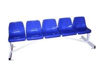 banco metalico con asientos pvc, banquillos, banco metalico