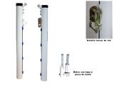 postes padel, postes padel fijos, postes padel aluminio