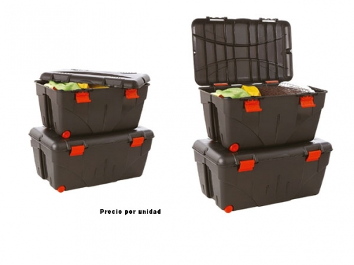 caja almacenaje, caja plastico, caja con tapa, caja pvc