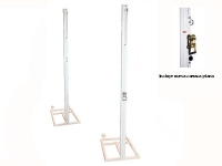 postes voleibol, postes voley, postes voleibol trasladables aluminio